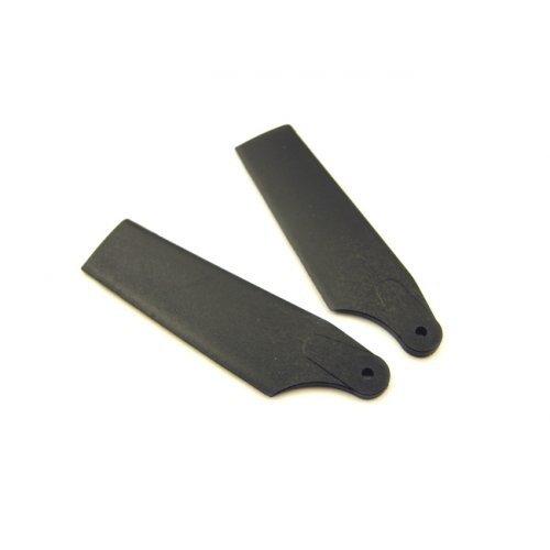 450 SPORT/PRO – Łopatki ogonowe czarne