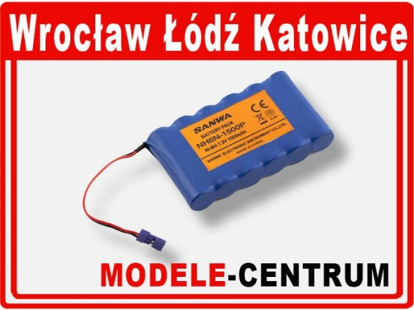 Akumulator Pakiet SANWA NiMH 7,2V 1500 mAh Tx (rzą
