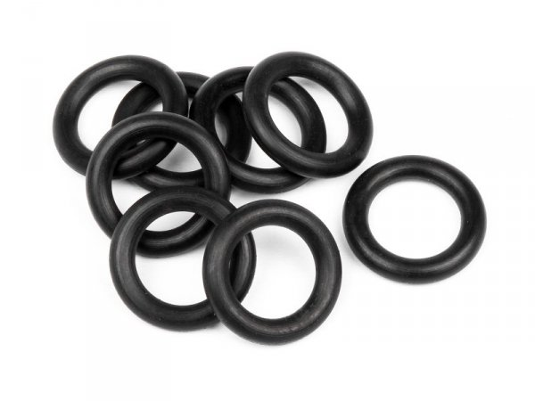 O-RING 7x11x2.0mm (BLACK/8pcs) 75080