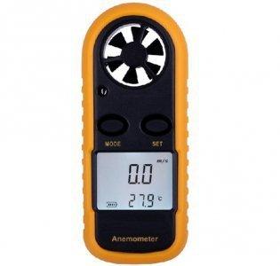Miernik wiatru - Wiatromierz cyfrowy GM816