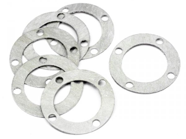 DIFF CASE WASHER 0.7mm (6pcs) 86099