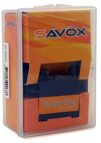 SAVOX SERWO CYFROWE SC1256TG TYTANOWE