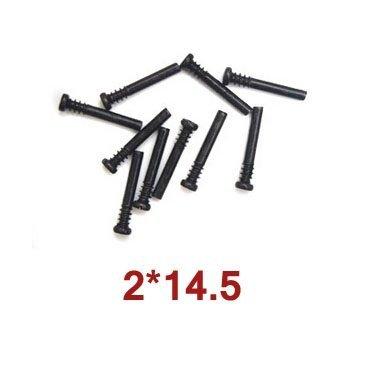 10szt Round Head Screw Steps 2x14.5 Wl Toys