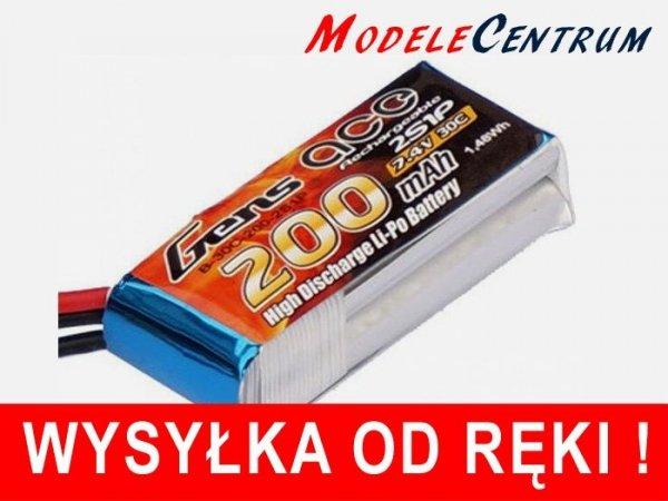 Gens Ace 200mAh 7.4V 30C 2S1P Akumulator