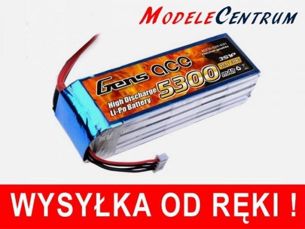 Akumulator Gens Ace: 5300mAh 11.1V 30C