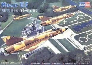 HOBBY BOSS 80315 1/48 Mirage IIIC Fighter