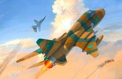 Mastercraft SU-22M3 Gulf of Sidra Conflict