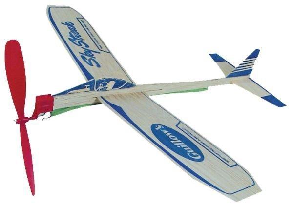 Samolot Sky Streak z napędem gumowym-na gumkę
