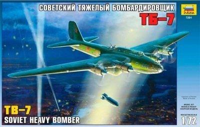 Zvezda N 7291 (1/72) Soviet Bomber TB-7