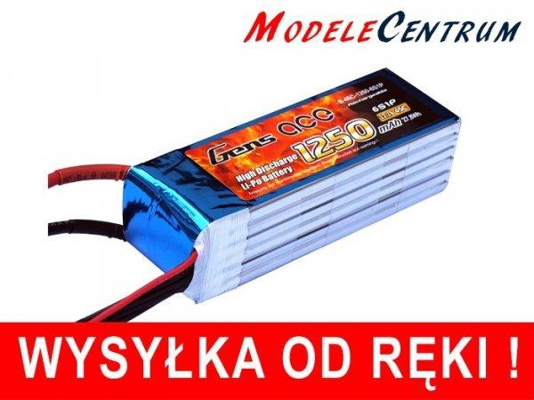Akumulator  Gens Ace: 1250mAh 22.2V 45C
