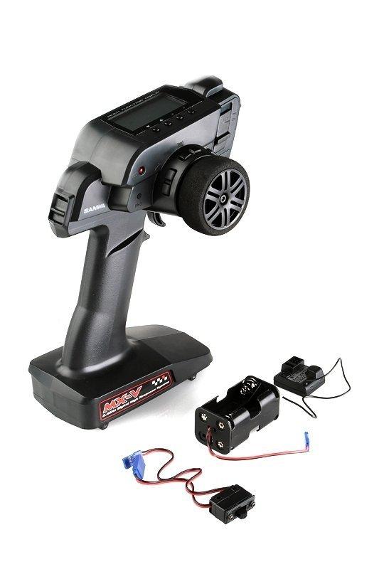 Aparatura samochodowa SANWA MX-V 2,4 GHz + odbiornik RX-37E