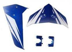 Lotki tylnego ogona niebieskie S 107G