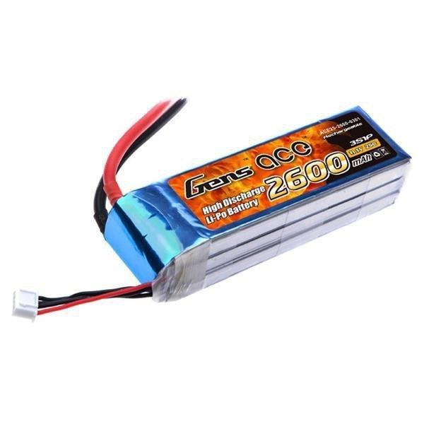 Gens Ace: 2600mAh 11.1V 25C Akumulator
