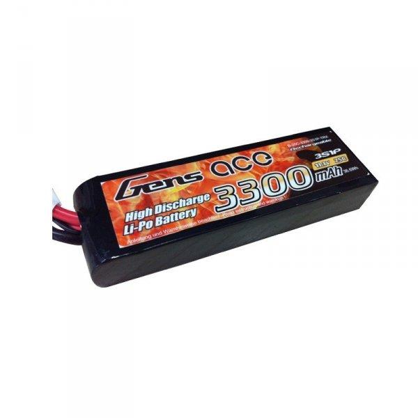 Gens Ace: 3300mAh 11.1V 25C Akumulator