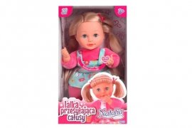 Natalia lalka przesyłająca całusy