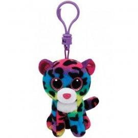TY Beanie Boos Dotty - Kolorowy leopard, 8.5 cm