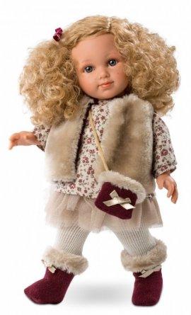 Lalka Elena 35 cm kręcone włosy