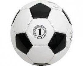 Mini piłka nożna biało - czarna