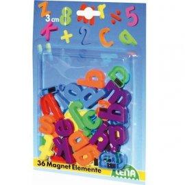 Literki magnetyczne małe 36 szt.