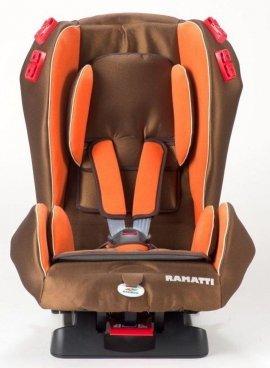 RAMATTI FORMULA BROWN Fotelik samochodowy 9-25kg