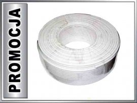 KAB0003 Kabel koncentryczny ANTENOWY RG6-U 1.02mm