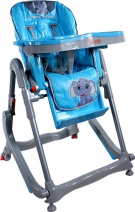 ARTI Modern RT-004 Blue Little Elephant KRZESEŁKO DO KARMIENIA