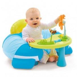 SIMBA 110201 Siedzonko Fotelik zabaw z interaktywnym stoliczkiem