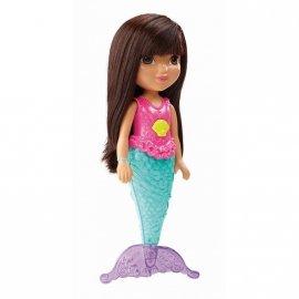 Fisher Price CDR85 Magiczna pływaczka Syrenka Dora