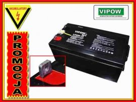 BAT0226 Akumulator żelowy VIPOW 12V 250Ah