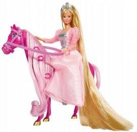 SIMBA 5734025 Steffi Księżniczka Z Koniem HIT