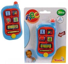 Simba 4015349 Abc Mój Pierwszy Telefon z Dżwiękiem