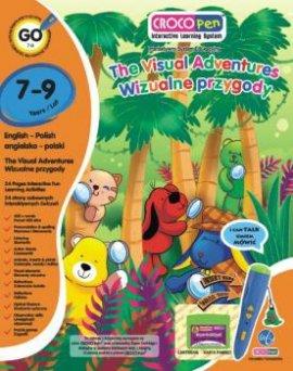 Crocopen KACP85014 Interaktywna Książka z serii Crocopen - Wizua