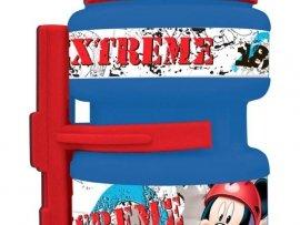 Bidon Rowerowy - Myszka Mickey - Disney - niebiesko-czerwony