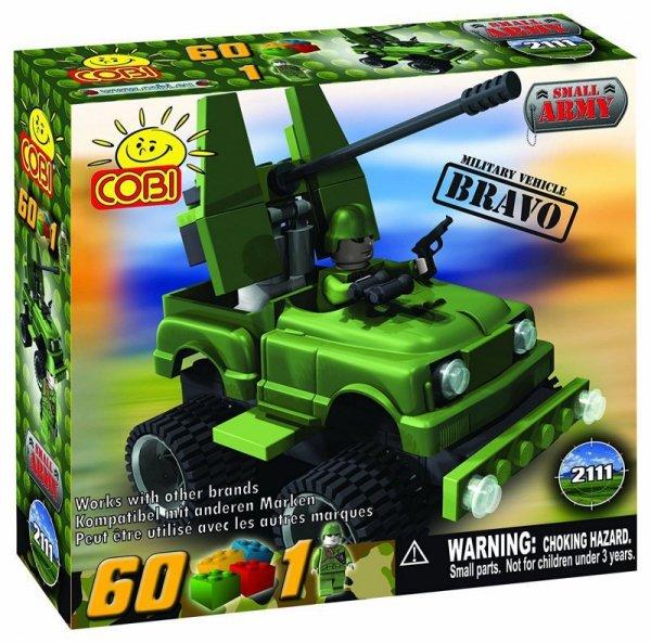 SMALL ARMY 2112 KLOCKI POJ. RAKIETOWY CHARLIE