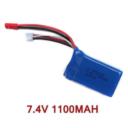 Bateria Akumulator Pakiet 7,4V 1100 mAh Wl Toys A949-27 A949  A959  A969  A979