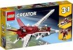 LEGO CREATOR FUTURYSTYCZY SAMOLOT 31086 7+