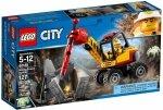 LEGO CITY KRUSZARKA GÓRNICZA 60185 5+