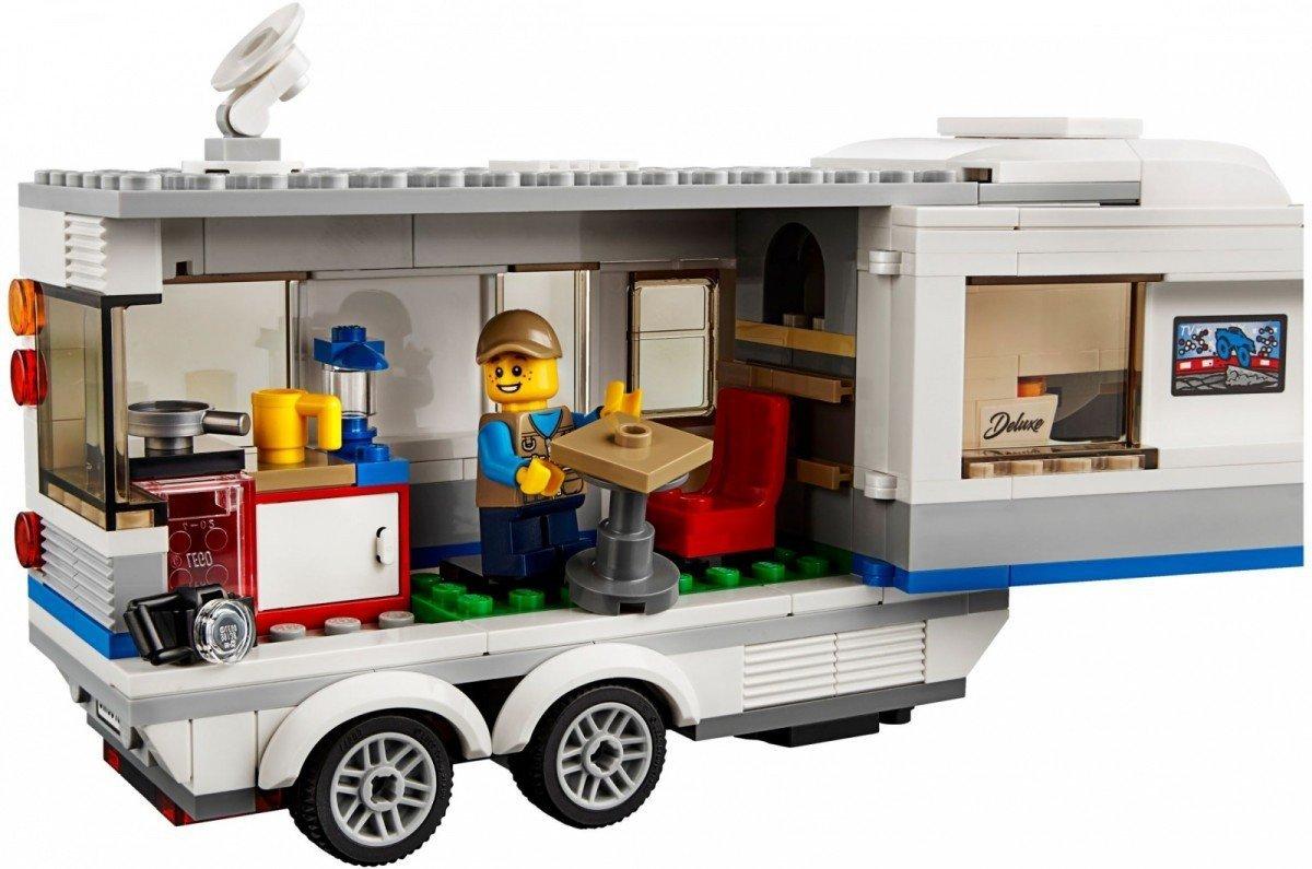 Lego City Pickup Z Przyczepą 60182 5 City Lego Malakopl