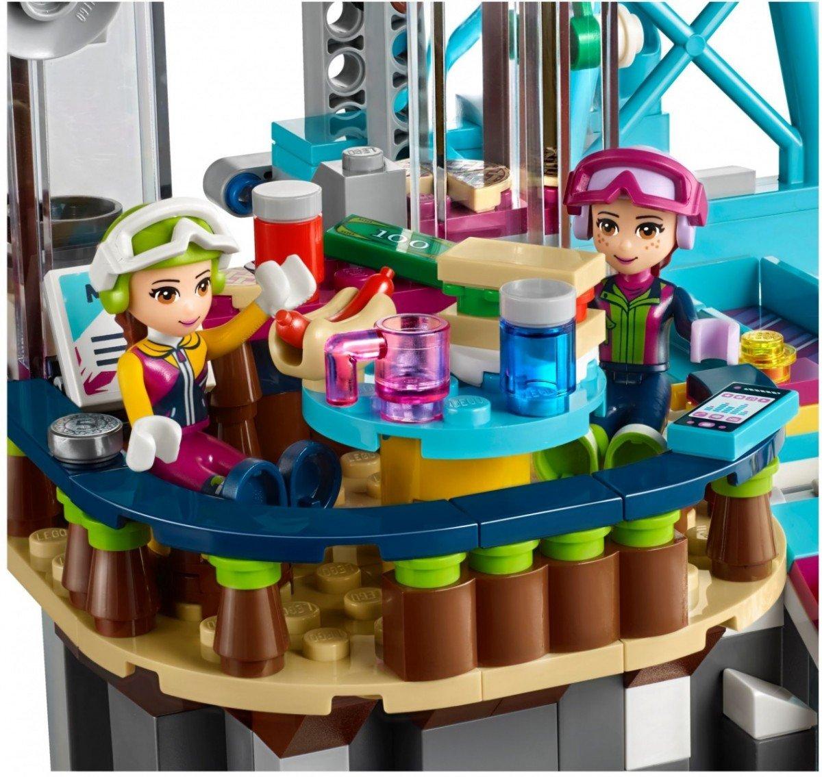 Lego Friends Wyciąg Narciarski W Zimowym Kurorcie 41324 8 Friends
