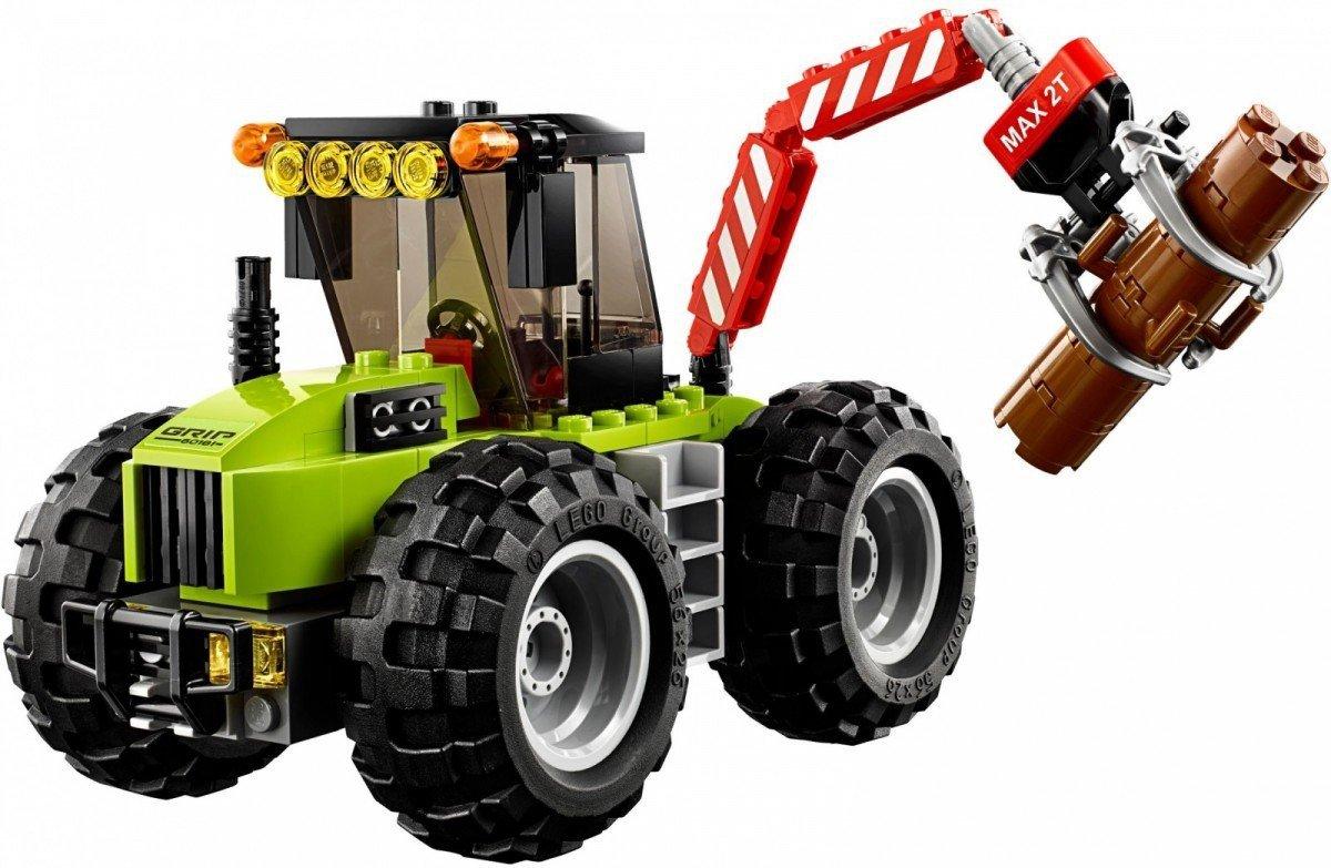 Lego City Traktor Leśny 60181 5 City Lego Malakopl