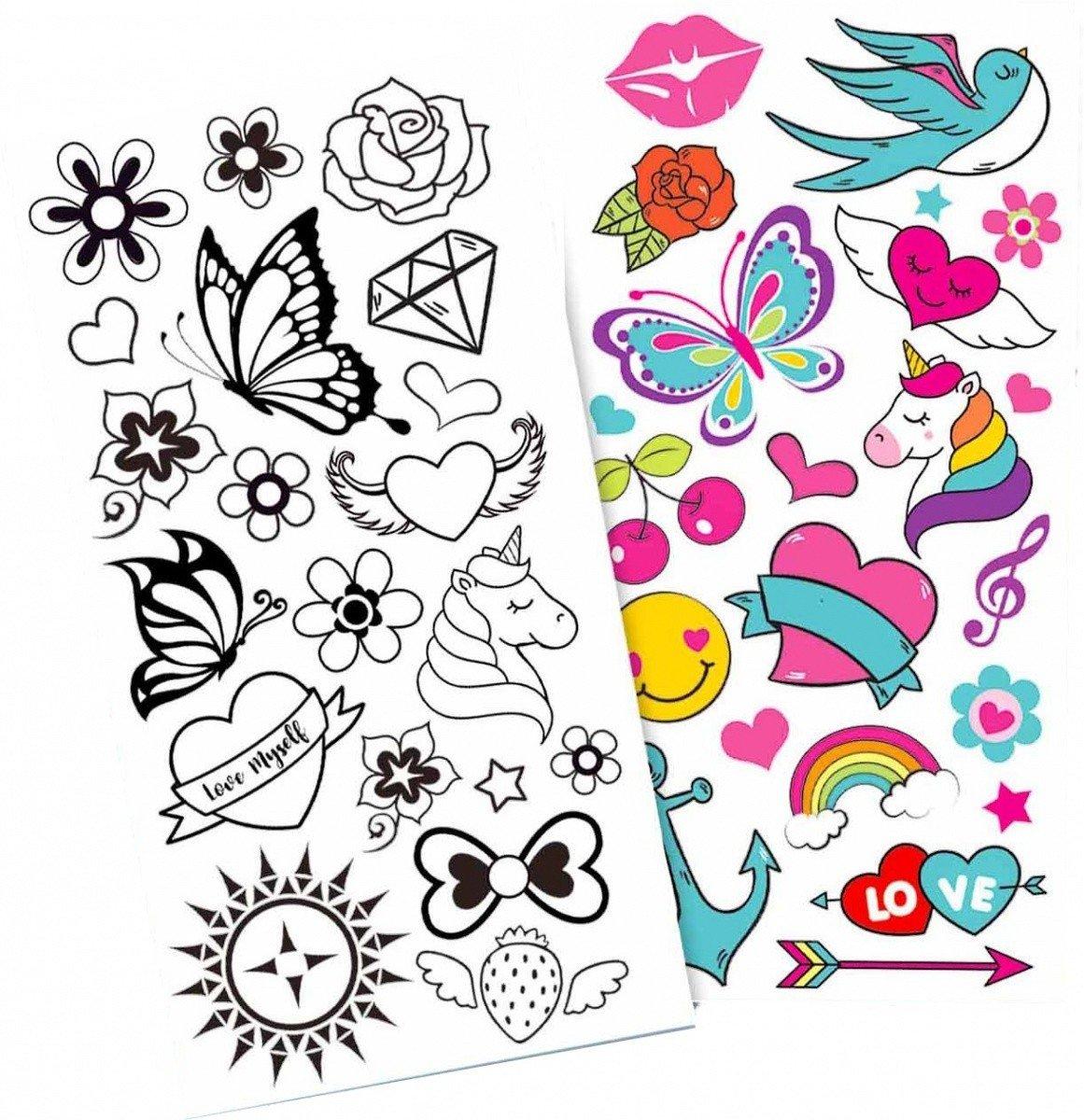 Stnux Zestaw Markerów Do Tatuaży 6 Tatuaże Kreatywne I