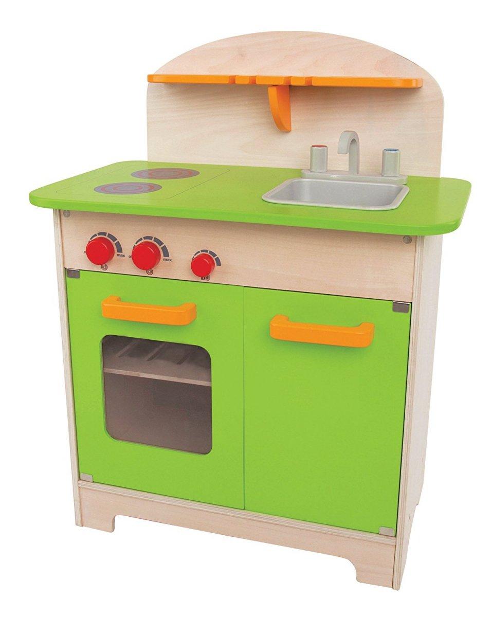 Hape Zielona Drewniana Kuchnia Dla Dzieci 3 Kuchnie Dom