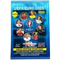 PANINI EURO 2016 MEGA ZESTAW STARTOWY UEFA 5+