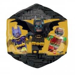 AMSCAN BALON FOLIOWY SUPERSHAPE LEGO BATMAN 3+
