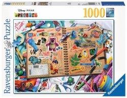 RAVENSBURGER 1000 EL. DISNEY PIXAR SCRAPBOOK PUZZLE 14+