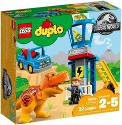 LEGO DUPLO JURASSIC WORLD WIEŻA TYRANOZAURA 10880 2+