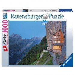 RAVENSBURGER 1000 EL. AESCHER SZWAJCARIA PUZZLE 12+