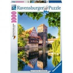 RAVENSBURGER 1000 EL. NORYMBERGA PUZZLE 12+
