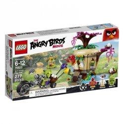LEGO ANGRY BIRDS KRADZIEŻ JAJ NA PTASIEJ WYSPIE 75823 6+