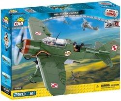 COBI KLOCKI ARMIA PZL P-23B KARAŚ 280 EL. 6+